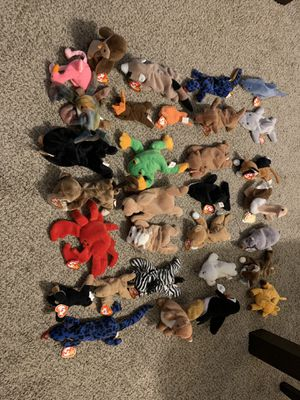 Assortment of TY beanie babies for Sale in Lindenwold, NJ