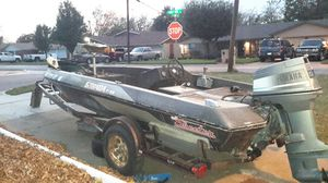 Skeeter Boat trailer 15.4 is boat size pictured for Sale in Forest Hill, TX