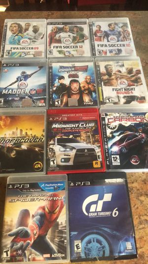 PS3 video games for Sale in Greenwich, CT