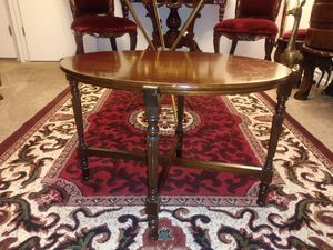 Beautiful antique Paalman Furniture Company Table with tray for Sale in Thornton, CO