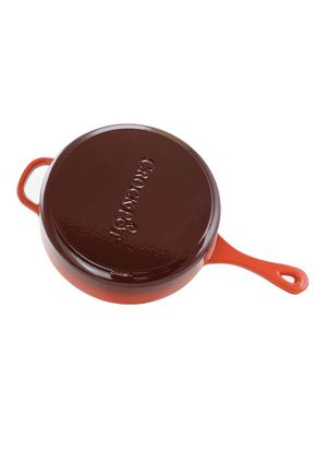 Crockpot enameled cast iron dual function sauce pan (2 piece) for Sale in Fort Worth, TX