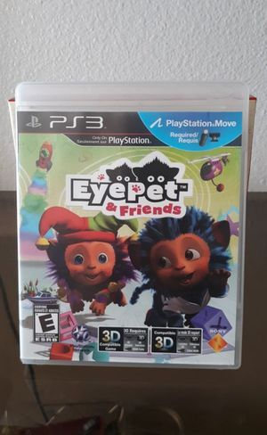 PS3 Game: EyePet & Friends for Sale in Las Vegas, NV