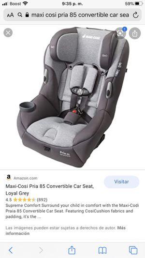 PRACTICALLY NEW MAXI COSI PRIA 85 CONVERTIBLE CAR SEAT for Sale in Riverside, CA