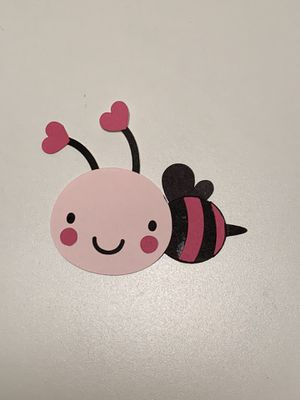 Pink Butterfly card stock scrapbook party decoration embellishment for Sale in Post Falls, ID