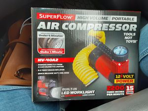 Portable air compressor/tire inflator for Sale in San Antonio, TX