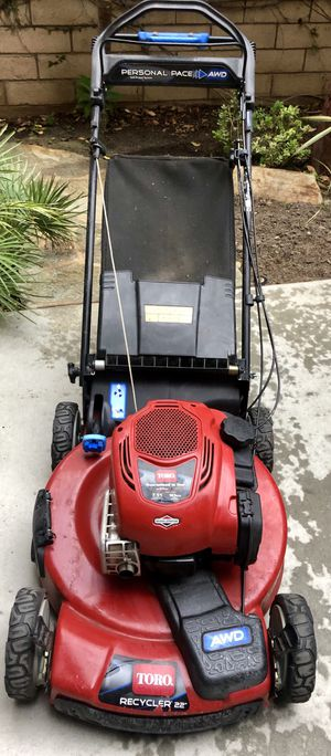 Lawn mower toro self propelled AWD personal pace great condition for Sale in San Diego, CA