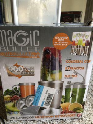 Magic bullet blender for Sale in Dunwoody, GA