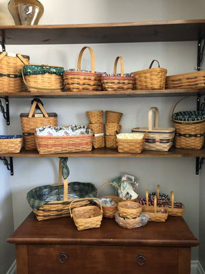 Longaberger Baskets for Sale in Moreno Valley, CA