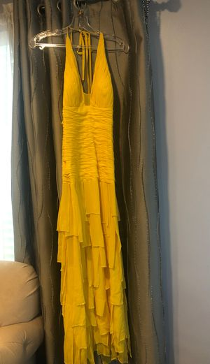 Yellow dress size 2 for Sale in Los Angeles, CA