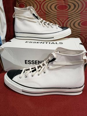 Essentials x converse chuck 70 high fear of God size 11 men's delivery available for Sale in Norco, CA