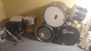 Gammon rouge drum set for Sale in Columbus, OH