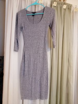 RIBBED SWEATER DRESS BY LOVE ARI SIZE S-EX. COND. for Sale in Jacksonville, FL