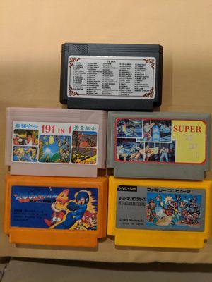 5 Nintendo famicom video games for Sale in Riverside, CA