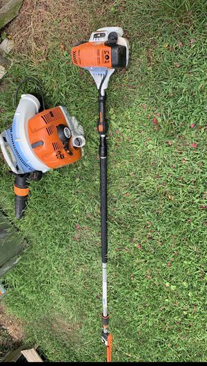 Sthil exaction 133 model Br450 backpack blower for Sale in Cary, NC