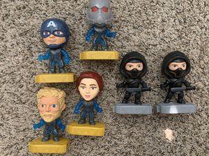 Super heroes toys set for Sale in Denver, CO