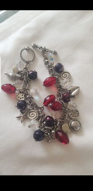 Charms and SWAROVSKI CRYSTALS BEADS BRACELET for Sale in Tracy, CA