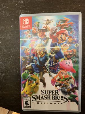 Super smash bros. Ultimate for Nintendo Switch for Sale in Webster Groves, MO
