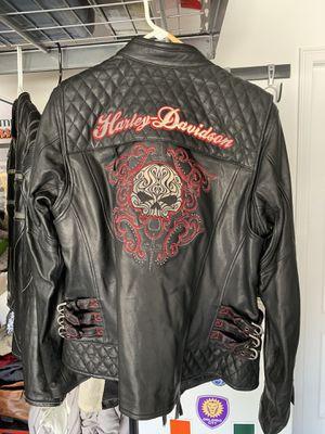 Ladies Harley Davidson Leather Jacket for Sale in Minneola, FL