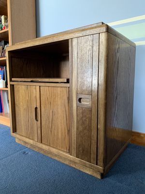 TV stand with storage for Sale in Shepherdstown, WV