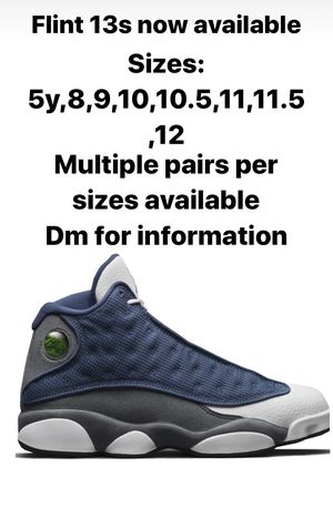 Air Jordan Flint 13 multiple sizes for Sale in Washington, DC
