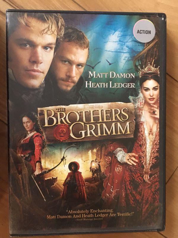 Ratatouille, Shrek 2, Brothers Grimm - like new