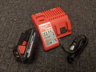 Milwaukee M18 high output BATTERY and dual CHARGER M12 for Sale in West Jordan,  UT