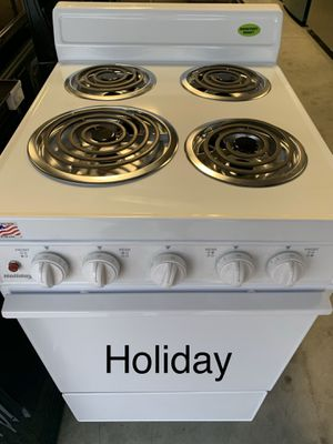"""BRAND NEW HOLIDAY 24"""" ELECTRIC COIL FREESTANDING RANGE OVEN for Sale in Houston, TX"""