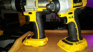 18 volt dewalt impact and 🔨 drill for Sale in Pittsburgh, PA