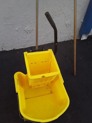 2 mops and a bucket for Sale in Los Angeles, CA