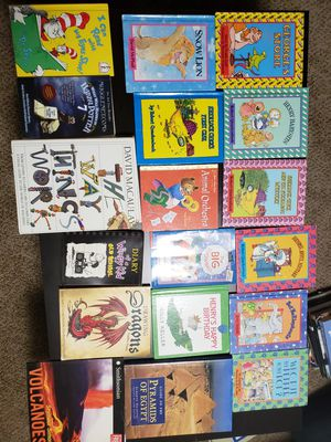 Over 130 books - mostly kids for Sale in Lakewood, WA
