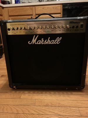 Marshall amp MG 100 DFX for Sale in Oswego, IL