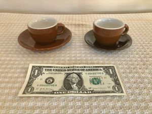 Vintage Espresso Cups and Saucers for Sale in San Jose, CA