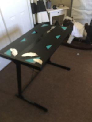 Black desk - handmade & refurbished for Sale in Lynbrook, NY
