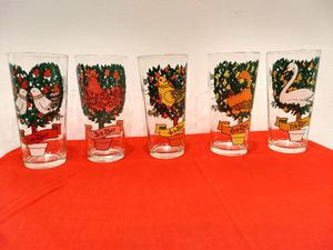 12 Days of Christmas 16 glasses. for Sale in Philadelphia, PA