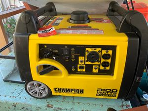 Generator (Champion global power equipment) for Sale in Dania Beach, FL