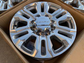 "20"" GMC Sierra 2500HD Wheels Tires Chevy Silverado 3500 HD 2500 Rims for Sale in Rio Linda,  CA"
