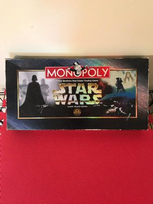 1997 vintage Star Wars Monopoly game for Sale in Summerfield, NC