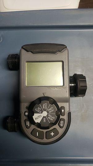 Orbit 56544 2 outlet hose faucet timer, programmable, for Sale in Menifee, CA