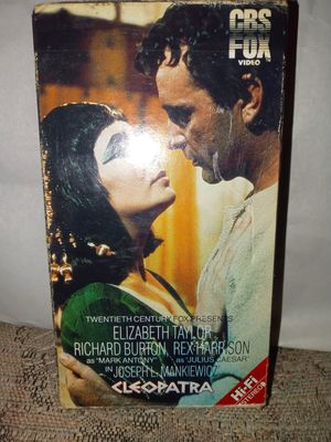 Cleopatra VHS tapes for Sale in Joplin, MO