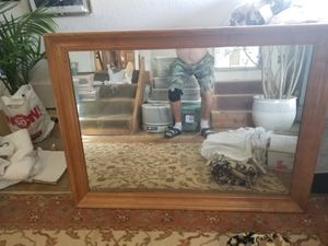 Large old antique mirror for Sale in Imperial Beach, CA