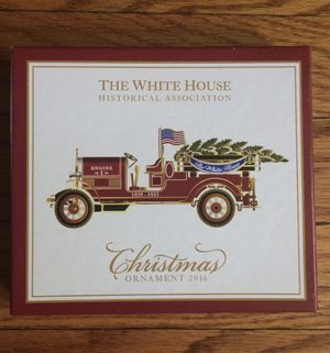 🕎⛄🎄 2016 White House Christmas Ornament 🕎⛄🎄 Holiday Winter Gift Authentic From Event for Sale in Minneapolis, MN