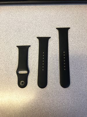 Black Original Apple Watch Band 42mm S/M & M/L sizes for Sale in Fort Bliss, TX
