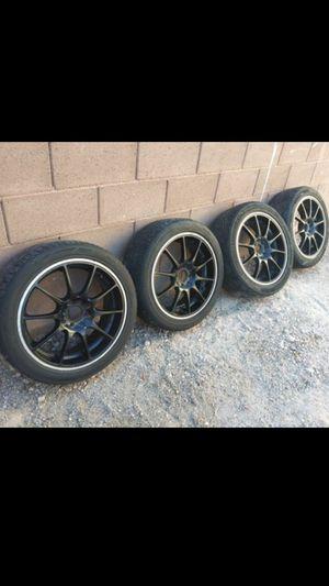 17 Inch Black Rims. $250 OBO for Sale in North Las Vegas, NV