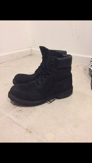 Timberland size 8.5 Black Waterproof Boots for Sale in Chicago, IL