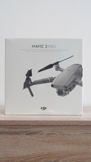 """DJI Mavic 2 Pro - Drone Quadcopter UAV with Hasselblad Camera 3-Axis Gimbal HDR 4K Video Adjustable Aperture 20MP 1"""" CMOS Sensor, up to 48mph, Gray for Sale in Pinecrest, FL"""