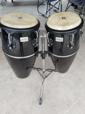 Toca brand congas with stand for Sale in Saint Martinville, LA