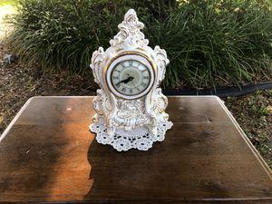 Vintage/Antique Lanshire Porcelain Electric Mantel Clock for Sale in Casselberry, FL