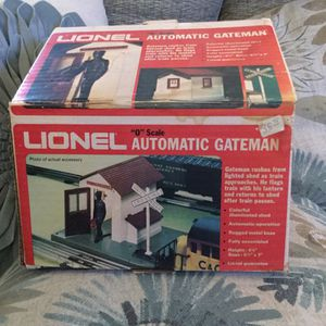 Lionel automatic gateman for Sale in Norco, CA