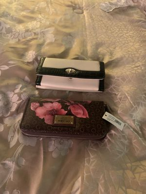 Two new ladies wallets guess and Croft and barrow for Sale in Indianapolis, IN