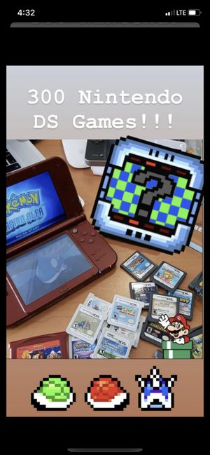 300 Nintendo DS Games for Sale in La Puente, CA